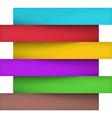 Infographics paper design vector image