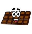 Cartoon chocolate vector image
