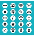 Illegal Activities Icons vector image