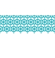 Nautical ship wheels abstract blue horizontal vector image