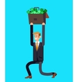 detailed character business investor vector image