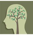 Tree in Head vector image