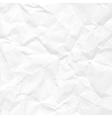 Paper crumpled vector image