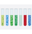 Virus tubes vector image