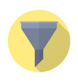 filter icon colored vector image