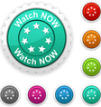 Watch now award vector image