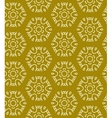 Yellow abstract seamless pattern vector image