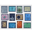 Stamp set for sale vector image