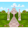 Romantic Castle vector image vector image