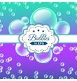 SeaBubbles vector image