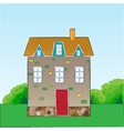 Cartoon style house vector image vector image