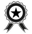 Award icon style is flat symbols vector image