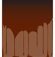 Molten Chocolate Background vector image