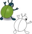 Bug vector image vector image