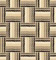 Ragged color bars vector image