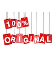 colorful hanging cardboard Tags - 100 vector image