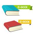 E-book Icons vector image
