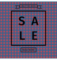 Sale templates with discount offer vector image