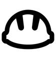 Hardhat Stroke Icon vector image