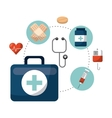 healthcare concept design vector image