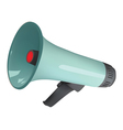 isolated loudspeaker vector image vector image