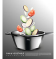 realistic cooking concept vector image