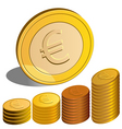 money euro vector image