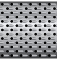 Background texture steel grater background vector image