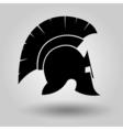 Spartans Helmets silhouette vector image vector image