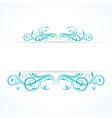 creative floral design vintage vector image