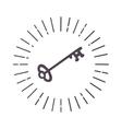 Esoteric symbol vector image