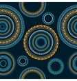 Seamless Circle Background vector image