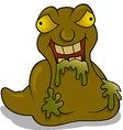 Trash Monster vector image vector image