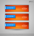 business banners editable design elements for vector image