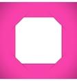 Photo frame corners vector image