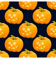 Hand drawnHalloween pampkin color drawing Design vector image