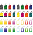Set of Shopping tags vector image vector image