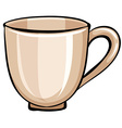 Coffee mug vector image