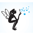 cartoon fairy vector image vector image