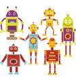 Cute Robot vector image