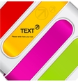 Abstract background with colorful stripes vector image