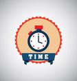 timer design vector image