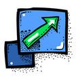 cartoon image of zoom icon enlarge and decrease vector image