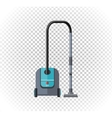 Vacuum Cleaner Design Flat Icon vector image vector image