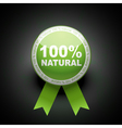 ecology web push button icon 100 percent vector image