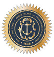 grand seal of rhode island vector image