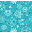 seamless christmas retro winter pattern vector image