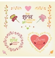 Valentine love card 02 A vector image