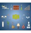 Interior Elements Set vector image