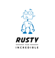 Rusty the Incredible vector image